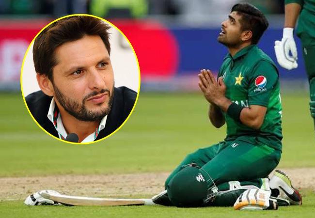 Shahid Afridi Says Babar Azam Backbone of Pakistan Team - Sakshi