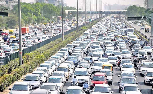Vehicle sales were very down this time - Sakshi