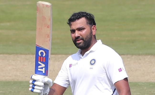 India vs South Africa 1st Test Rohit Sharma Hits Century - Sakshi