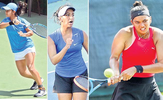 Fenesta National Tennis Championship Soujanya Reaches 2nd Round - Sakshi