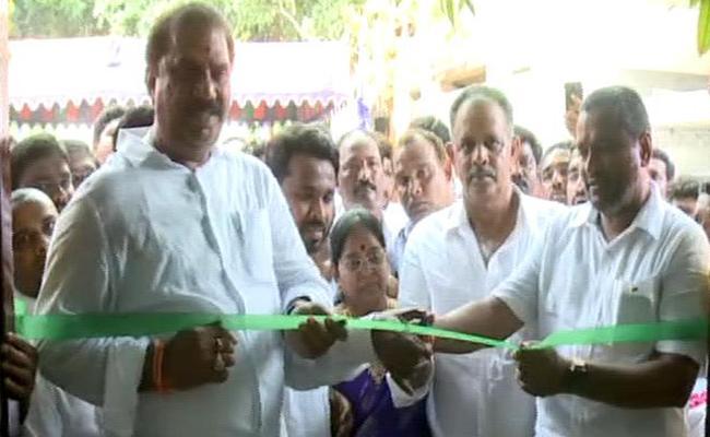 Vempalli Srinivas Starts Village Secretariat Building In Vijayawada - Sakshi