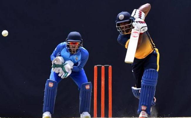 Vijay Hazare Trophy Rayudu Set It Up Hyderabad To Victory - Sakshi