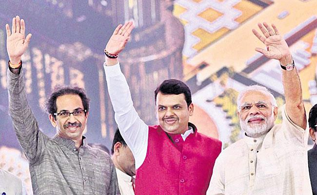 After Sealing Poll Pact With BJP, Shiv Sena Releases List of 124 Seats - Sakshi