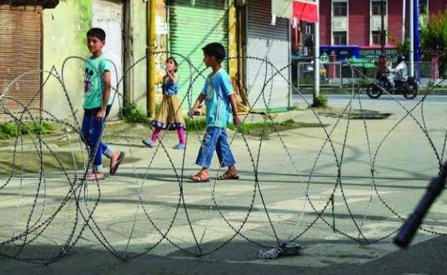 144 Children Illegal Arrest In Jammu Kashmir After August - Sakshi