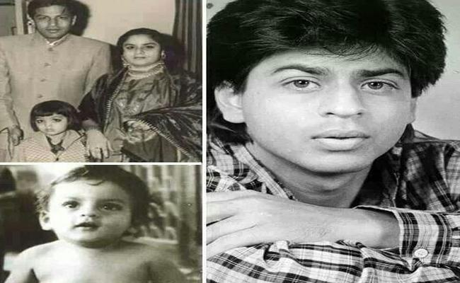 Fans Shares Shah Rukh Khans Childhood Photos In Social Media One Month Before His Birthday - Sakshi