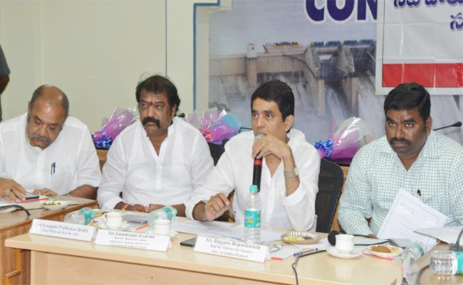 Irrigation Advisory Board Meeting Held In Kurnool - Sakshi