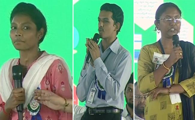 Village Secretariat Employees Share Their Experiences - Sakshi