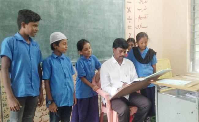 Teacher Shortage in YSR Kadapa - Sakshi