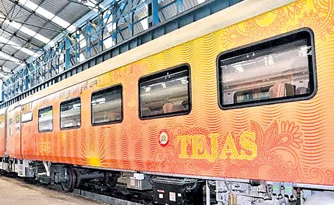 A First Ever For IRCTC Your Fare To Be Refunded If New Private Train Is Late - Sakshi