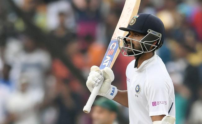Rahane Ends Three Year Home Drought With Century - Sakshi