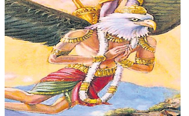 Epic Story About Garuthmanthudu In Funday Magazine - Sakshi