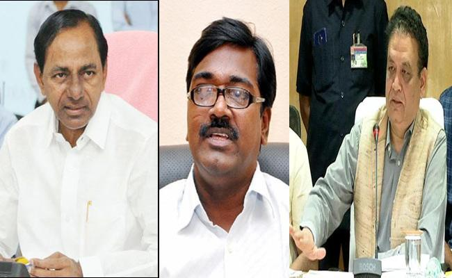 TSRTC Strike:Transport Minister Ajay, RTC MD meets again CM KCR - Sakshi