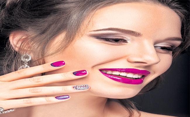 Beauty Of Womens By Polishing Nails Beautiful In Funday Magazine - Sakshi