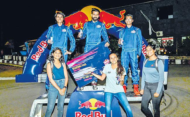 Mohamed Ridhaf Wins Finale of Red Bull Kart  Fight - Sakshi