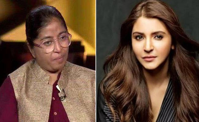 Actress Anushka Sharma Praises Sunitha Krishnan - Sakshi