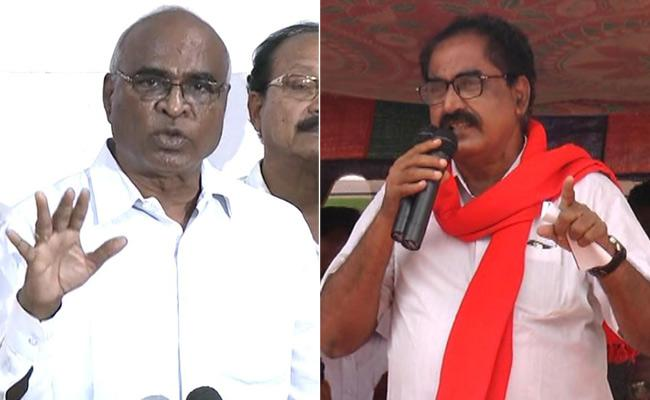CPM Leader Tammineni Veerabhadram Comments On RTC Strike - Sakshi