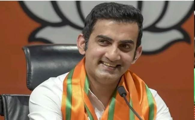 Gambhir Requested External Affairs Minister To Help The Pakistan Girl - Sakshi