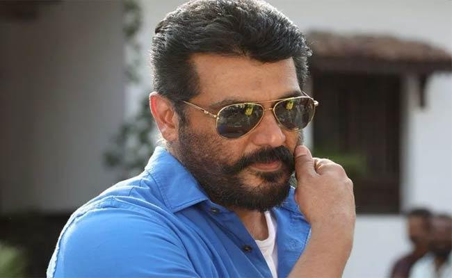 Thala Ajith New Movie Launch And Titled Valimai - Sakshi
