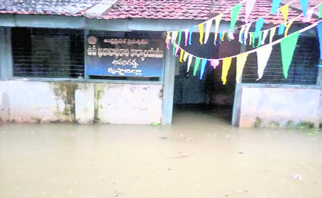 Huge Water Flow In Krishna - Sakshi