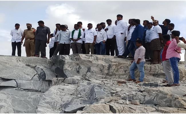 Thopudurthi Complains To CM On Paritala Family Mining Mafia  - Sakshi
