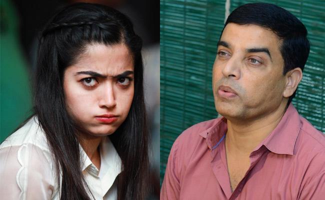 Dil Raju fires Rashmika Mandanna from a Movie - Sakshi
