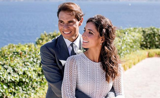 Rafael Nadal, Xisca Perello Wedding Photos - Sakshi