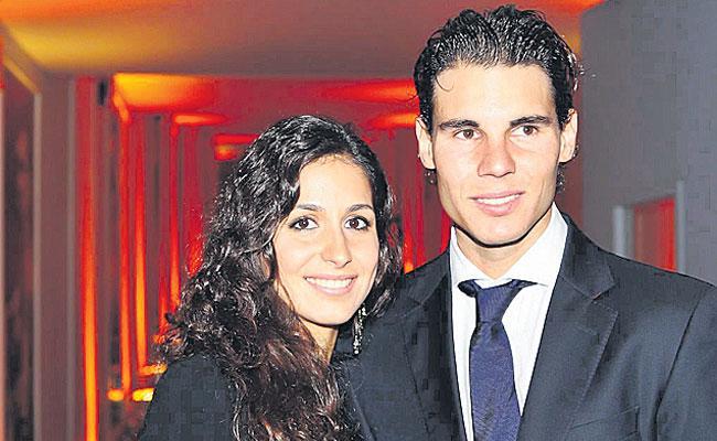 Rafael Nadal Marries Long Time Girl friend Xisca Perello In Spain - Sakshi