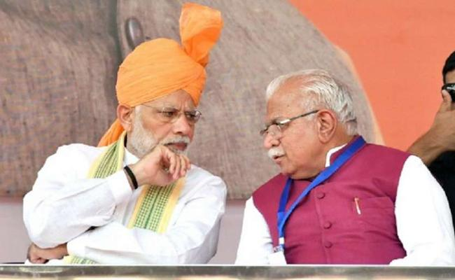 Assembly polls 2019: What Would Benefit For Fadnavis and Khatter - Sakshi