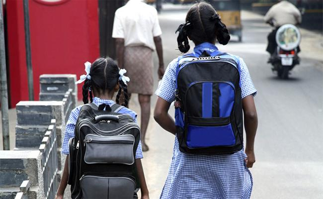 Schools Reopen In Telangana After TSRTC Strike Effect - Sakshi