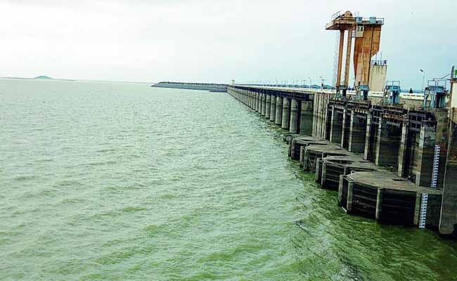 Maximum Water Storage in the Shri Ramsagar Project - Sakshi
