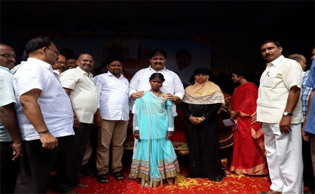 MLA Rachamallu Shivaprasad Reddy Assures Support For A Poor Student - Sakshi