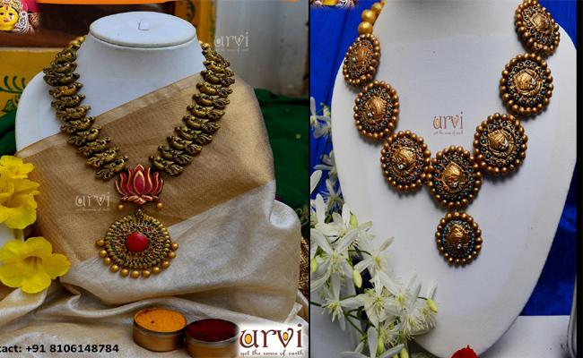 Eco Friendly Jewellery And Diyas For Diwali 2019 - Sakshi