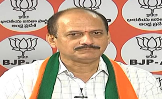 BJP Spokesperson Laxmipathy Raja Thanked AP CM - Sakshi