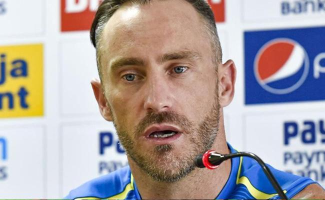 This Indian Team Under Virat Is tough Faf du Plessis - Sakshi