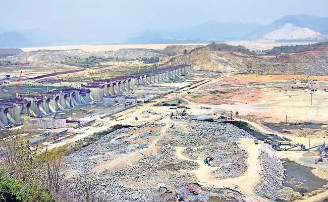 Polavaram Project Authority has directed the State Water Resources Department on polavaram works - Sakshi