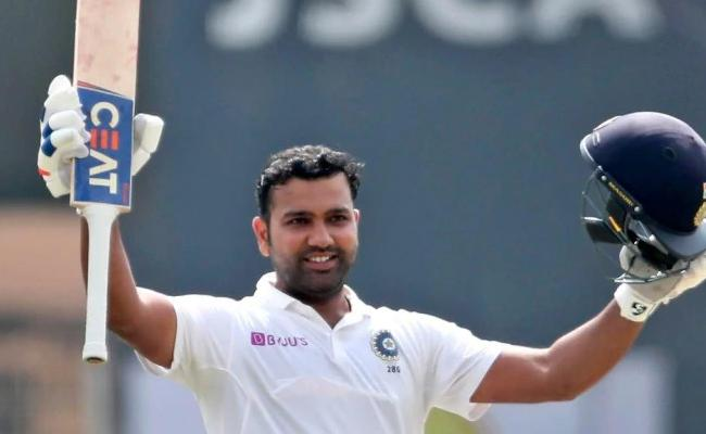 Kept Talking To Myself, Rohit On Success As Test Opener - Sakshi