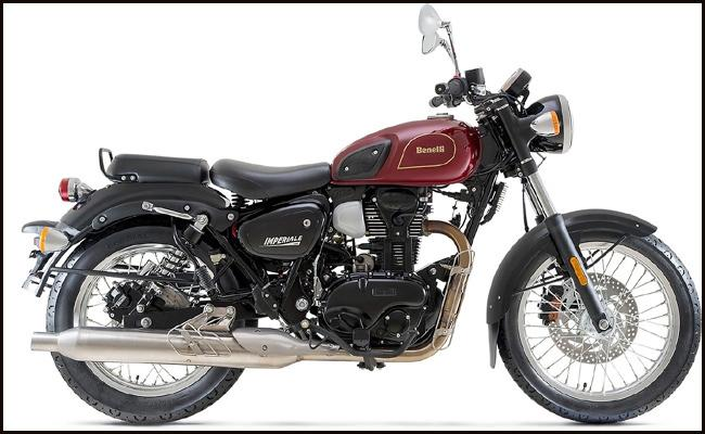 Benelli Imperiale 400 launched in India - Sakshi
