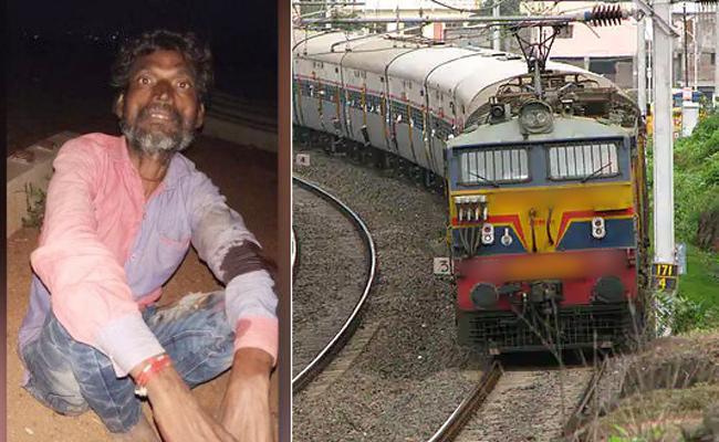 Three Trains Pass Over Madhya Pradesh Man - Sakshi