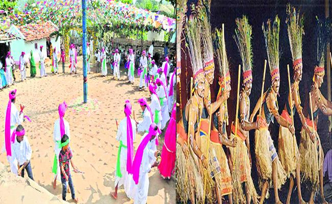 adivasis Dandari Gussaadi Festivities Begin Today. - Sakshi