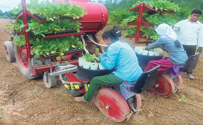 Story About Planting Machine - Sakshi