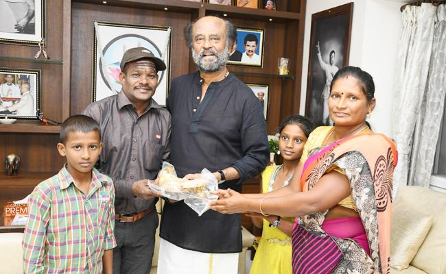 Rajinikanth Help Cyclone Gaja Victims in Tamil nadu - Sakshi