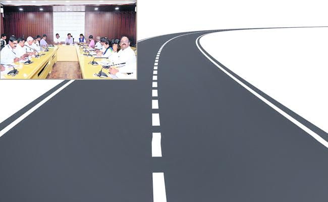 GHMC Given to Private Agency Road Constructions Works  - Sakshi