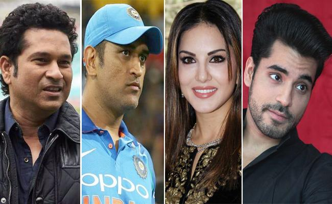 Dhoni And Sachin Most Dangerous Of Search For Online Says McAfee - Sakshi