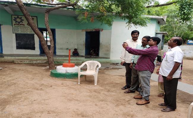 In Kadapa District Our School Nadu Nedu Program Is Start - Sakshi