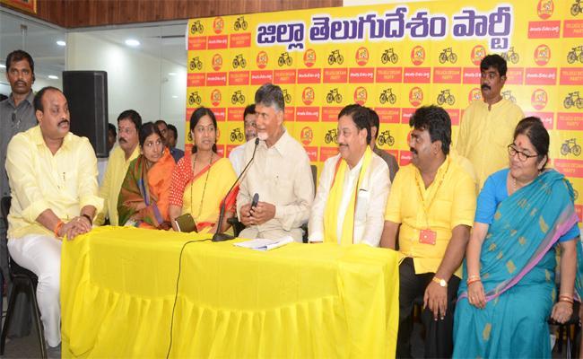 Chandrababu Naidu Two Days Tour In Srikakulam - Sakshi
