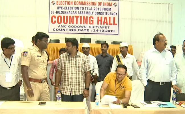 All Arrangements Complete For Counting Of Huzurnagar Bye Elections - Sakshi