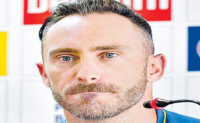 Du Plessis Feel Sad Over India Tour - Sakshi