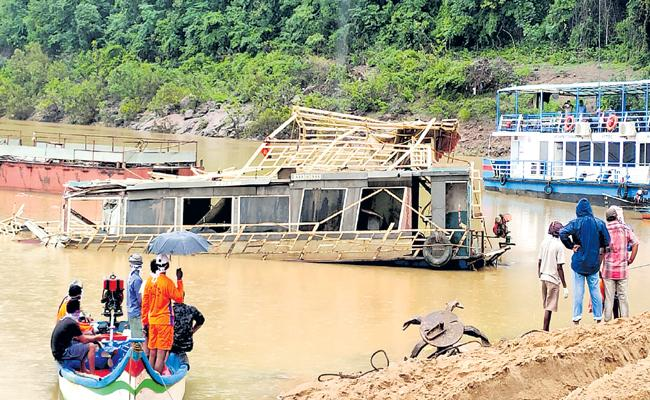 Kachuluru Boat Operation was Successfully completed - Sakshi