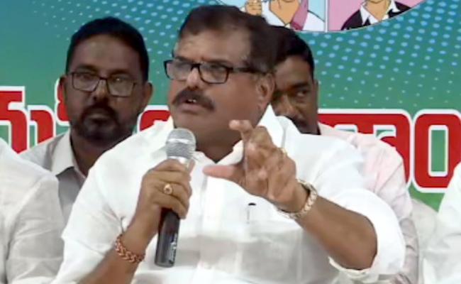 Botsa Satyanarayana Slams Chandrababu Over Comments On CM Jagan - Sakshi