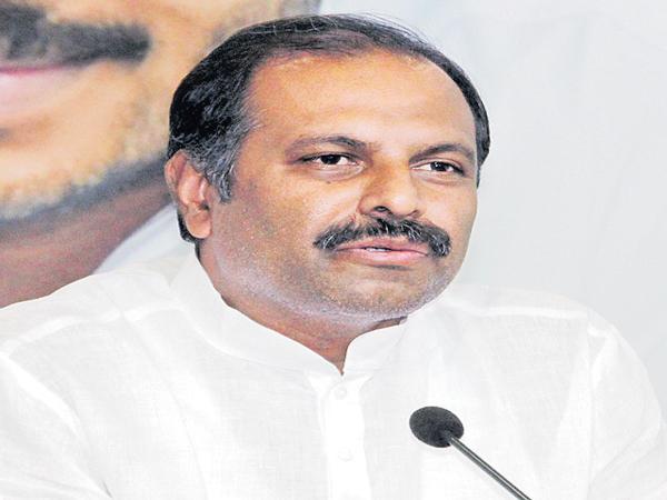 Gadikota Srikanth Reddy Comments On Chandrababu - Sakshi